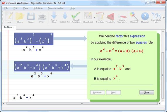 print factor math chart