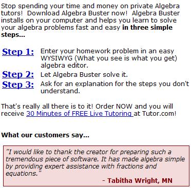 Algebra online